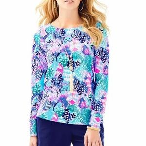 Lilly Pulitzer Quill Out Tristan Top